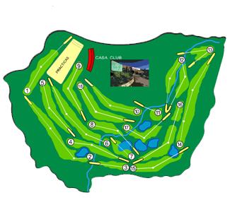 Ría de Vigo Golf Course map