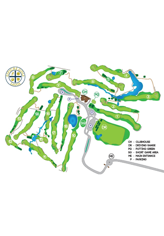 Course Map Espiche Golf Course