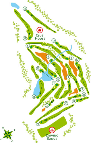 Quinta de Cima Course Map