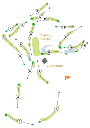 Belas Clube Campo Course Map