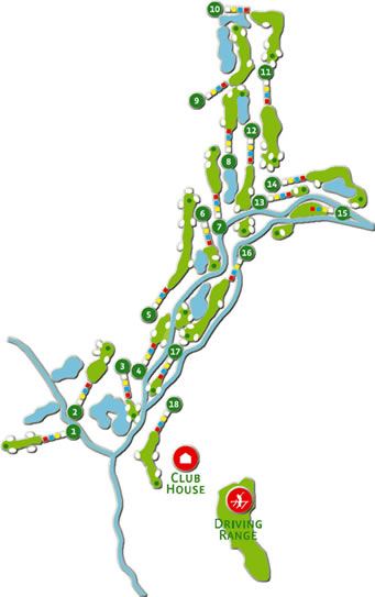 Amendoeira O'Connor Jnr. Course Map