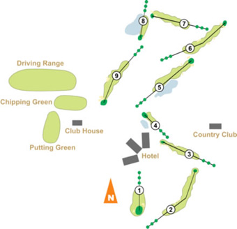 Penha Longa Atlantic North & South Course Map