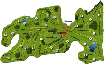 Batalha Golf Club Course Map