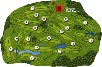 Portugal Golf CoursesFurnas Golf Course Scorecard Course Map - Portugal golf map