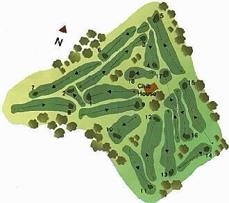 Golfe da Ilha Terceira Course Map