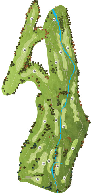 Vidago Palace Golf Course Map