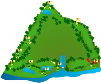 Quinta da Barca Course Map