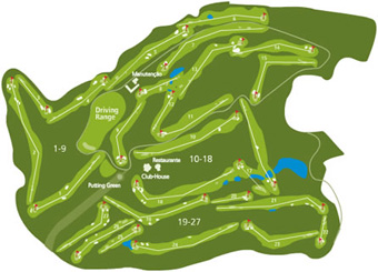 Montebelo Golfe Course Map