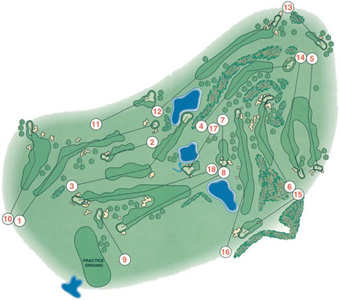 Golfe de Amarante Course Map
